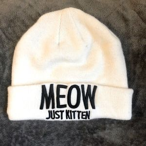 Accessories - MEOW Women's Acrylic Beanie Hat